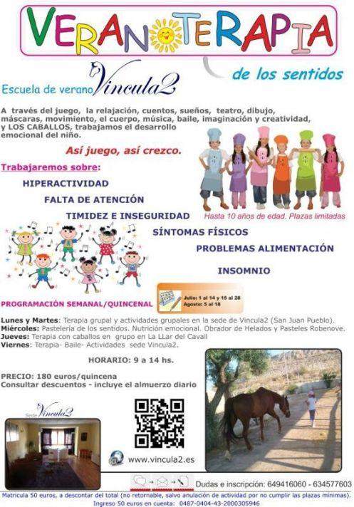 Escuela Verano con caballos